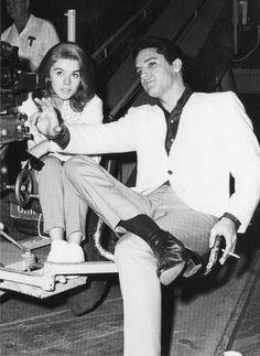 Ann-Margret and Elvis met in 1964 while filming Viva Las ...
