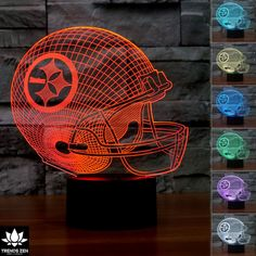 NFL Pittsburgh Steelers 3D LED Lamp Night Lamps 1992b183aced