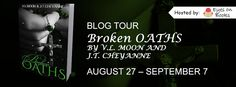 Broken Oaths By V. L. Moon & J. T. Cheyanne Synopsis Betrayed by his peers and slandered as a traitor, Commander Thierry Donovan has nothing left. Locked away and targeted by the very men respo...