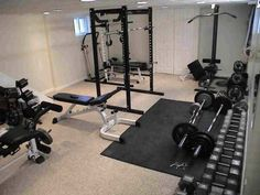 John's home gym