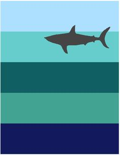 Nautical themed shark crib size quilt bedding item ... : shark quilt - Adamdwight.com
