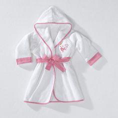 70%polyester30%viscose polar fleece hooded baby bathrobe with embroidery  Velour Fabric e576cd6c9