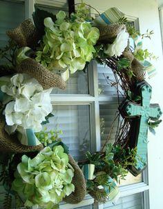 29 Best Cross Wreaths Images Wreath Ideas Burlap Door Hangers