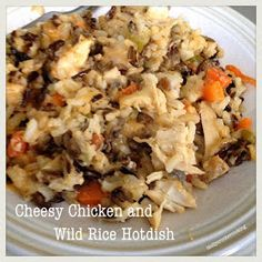 Molly Crocker Cooking: Cheesy Chicken & Wild Rice Hotdish