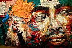 Street Artistry by directorschair on deviantART. Part of a long wall of street art down an alley off Karangahape Road in Auckland, New Zealand