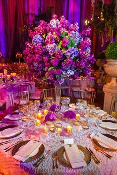 The Bride Wore Pnina Tornai  for Her Opulent Washington, D.C. Wedding | Davide DePas Photography | KleinfeldBridal.com