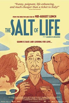 Warning- only watch this if you are in the mood for something utterly charming. The SALT of LIFE