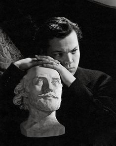 Orson Welles by Cecil Beaton, April 1942.
