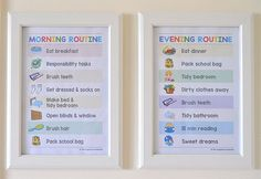 {The-Organised-Housewife}-Routine-Chart-on-kids-wall2