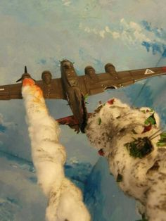 """Boeing B-17G Flying Fortress - is hit"""""""