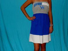 Kentucky GameDay Dress  UK Wildcat Apparel by LoveMyGameDress, $40.00