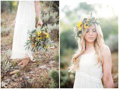Desert Sunflowers | Utah Wedding Photographer