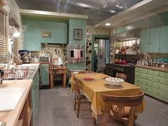 Julia Childs Kitchen. It is now at The Smithsonian, and is so inspiring!
