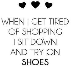 Shoe love is true love #shopping