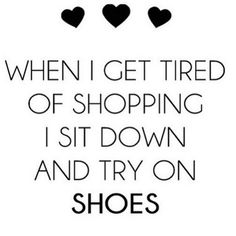 Shoe love is true love #shopping