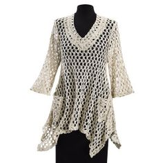 Cafe Crochet Tunic - Best Selling Gifts, Clothing, Accessories, Jewelry and Home Décor