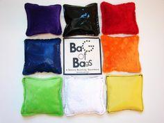 Sensory Bean Bags, I could make that!