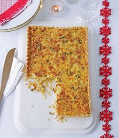 This simple vegetarian starter is perfect for a lunch party or as part of a Boxing Day buffet.