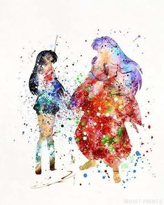 Inuyasha and Kagome, Inuyasha Print , [post_tags Inuyasha Funny, Inuyasha Fan Art, Kagome And Inuyasha, Inuyasha Memes, Arte Sailor Moon, Sailor Venus, Sailor Mars, Seshomaru Y Rin, Inu Yasha