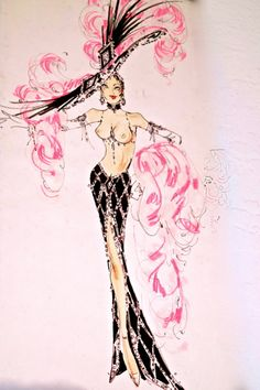The latest news and ideas that are worth sharing. Cabaret, Showgirl Costume, Vegas Showgirl, Burlesque Show, Vintage Burlesque, Josephine Baker, Pin Up, Girl Costumes, Dance Costumes