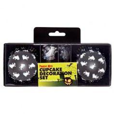 Halloween Cupcake Set 24 Pack Great for Halloween baking #poundlandhalloween