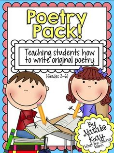"Want to teach a unit about poetry, but don't have the resources to do so? This ""Poetry Pack"" will be perfect for you! It's everything you need to teach a 3 week unit about Poetry! This is perfect for grades 3-5, but could easily be adapted for younger grades too!***This Poetry Pack includes 11 forms of poetry posters and 7 elements of poetry posters."