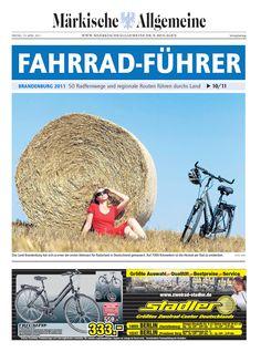 Fahrradführer 2011 - 50 Radfernwege und regionale Routen in Brandenburg