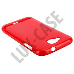 Glitter Shell (Rød) Samsung ATIV S Deksel