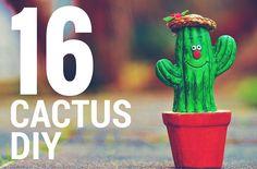 16 manualidades con cactus muy originales