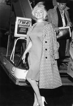 Marilyn Monroe arriving in New York City, June 15th 1961