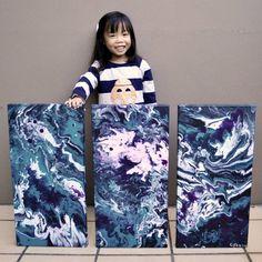 5-летняя художница помогает нуждающимся детям, продавая свои удивительные картины « FotoRelax