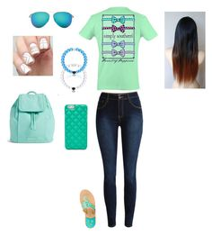 """""""Untitled #114"""" by wolfgirlnoni on Polyvore featuring Vera Bradley, Jack Rogers, Victoria Beckham and FOSSIL"""