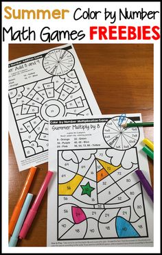 Class Activities, Free Activities, Writing Activities, Summer Activities, Fun Math, Math Games, Summer Journal, End Of School Year, School Days