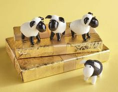 A boxed set of Pier 1 Glass Sheep Figurines is sure to bring a smile Least Favorite, Favorite Things, Dog Crafts, Gadgets And Gizmos, Glass Figurines, Cute Little Things, Inexpensive Gift, Pier 1 Imports, Dream Decor