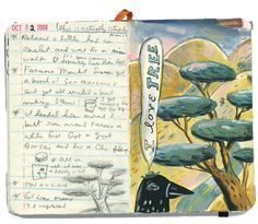 I Love Tree | shoulda-woulda-coulda journals