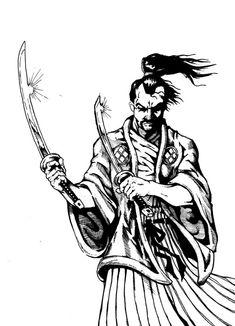 samurai by ~Brizoporto on deviantART