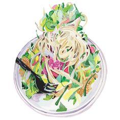 salad-illustration-noodles-asian-illustrator-food-editorial-watercolour.jpg 600×600 pixels
