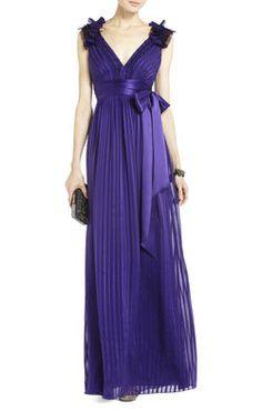Torey V-Neck Long Dress