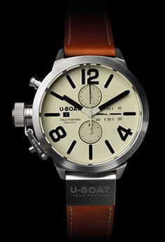 U-Boat Both beefy and restrained at the same time, from an Italian watch company on our radar. Classico ($3,100) by U-Boat,