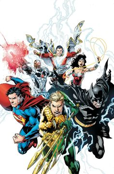 #Justice #League #Fan #Art. (Justice League: Throne of Atlantis, Chapter One. Vol.2 #15 Cover) By: Ivan Reis & Joe Prado & Rod Reis. (White Background) (THE * 5 * STÅR * ÅWARD * OF: * AW YEAH, IT'S MAJOR ÅWESOMENESS!!!™)[THANK Ü 4 PINNING!!!<·><]<©>ÅÅÅ+(OB4E)