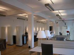 d-CONCRETE DARK / design / lighting / darling #DARK Oversized Mirror, Concrete, Lighting, Dark, Furniture, Design, Home Decor, Lights