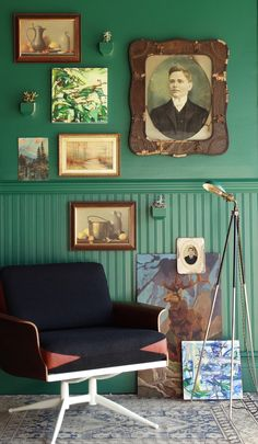 RDH Emerald: A mix of light + dark, green + blue, vibrant + muted. A throwback color made for today. Part of RDH Collection .01: A collaboration between Colorhouse and Revolution Design House