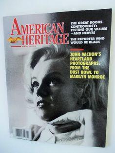 Marilyn Monroe 1989 Magazine close-up on by DaysofYoreTreasures