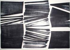 Lithograph - Hans Hartung - L 18 1974