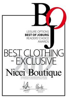 #NicciBEST#of#JHB#Winner