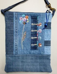 Liberty Flower Bag by Di Wells | Quilting Pattern - Looking for your next project? You're going to love Liberty Flower Bag by designer Di Wells. - via @Craftsy