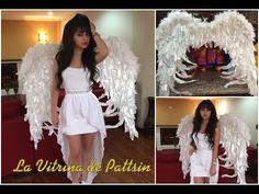 Como hacer unas alas de ángel, how to make Angel wings - YouTube