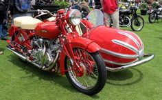 1949 Vincent Touring Rapide with Blacknell Bullet Sidecar