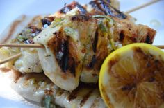 meyer lemon grilled chicken
