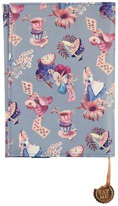 ピレアグラウカ ブックカバー アリス 『不思議の国のアリス』の雑貨シリーズ アリス・イン・ワンダーランド   - SelectShop W